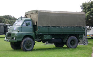 Army Truck Hire