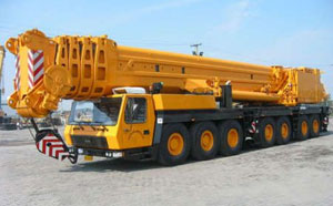 Truck with Crane for Hire